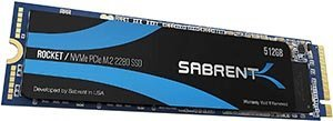 Sabrent NVMe PCIe 512 GB