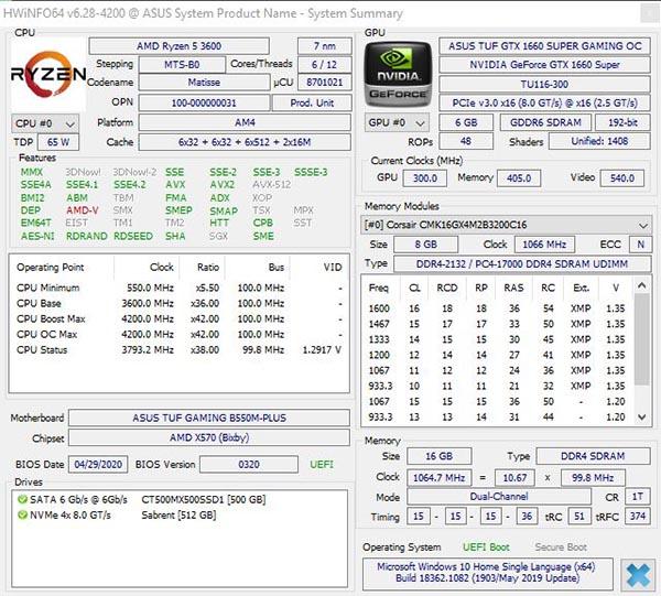 hwinfo64 - vedere componenti computer